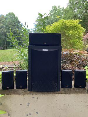 Polk audio surround system for Sale in Kennesaw, GA