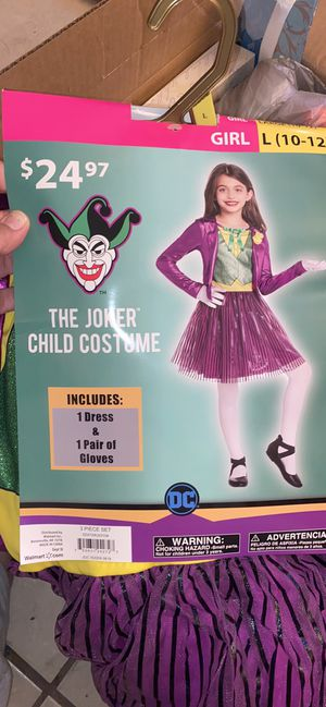 Halloween costume kid/Adult and Adult Mask for Sale in Las Vegas, NV