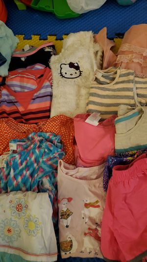 Little girl clothes size 6 lot for Sale in Houston, TX