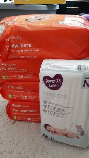 Newborn diapers for Sale in Las Vegas, NV