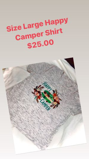 Happy Camper T-shirt for Sale in Goodman, MO