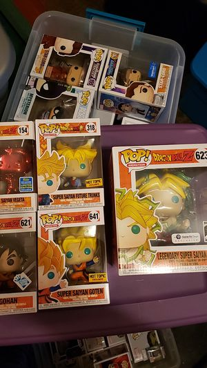 Funko Pop Dragonball Z Exclusive lot for Sale in Saint Paul, OR