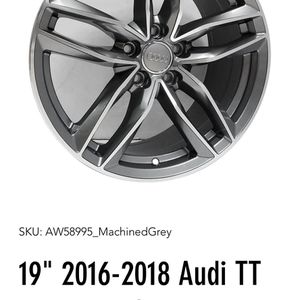 """19"""" 2016-2018 USED Forged Alloyed Wheels With Tires for Sale in Henderson, NV"""
