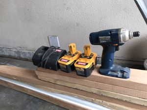 Ryobi impact drill battery for Sale in Ceres, CA