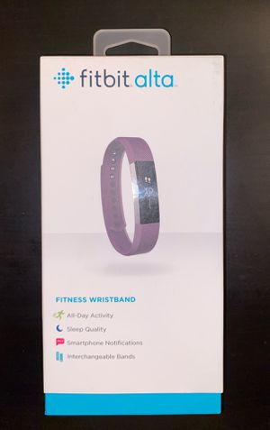 Fitbit Alta - Fitness Tracker Wristband for Sale in Tucson, AZ