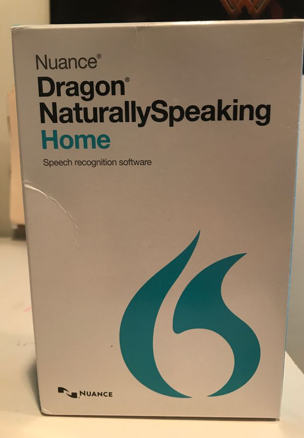 Nuance Dragon NaturallySpeaking Speech Recognition Software for PC Version 13 UNUSED!