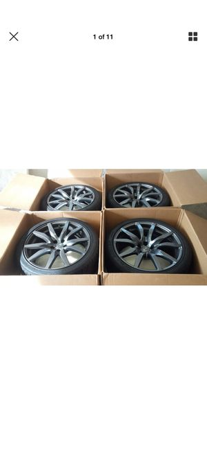 Nissan GT-R OEM Wheels + Tires for Sale in Arlington, VA