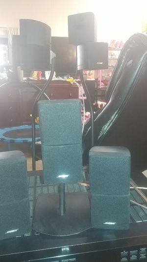 5 bose speakers.yamaha amplifier.yamaha subwoofer. for Sale in Fullerton, CA