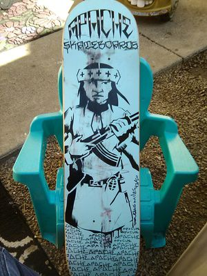 AUTOGRAPHED APACHE SKATEBOARD for Sale in Mesa, AZ