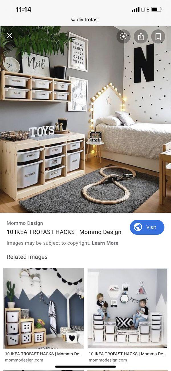 Shelf organizer small trofast