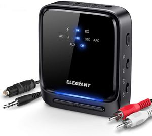 ELEGIANT BTI-066 Bluetooth 5.0 Transmitter Receiver Wireless Audio Adapter for Sale in Los Angeles, CA