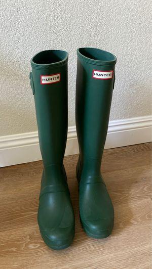 Hunter Rain boots women size 9 for Sale in Fresno, CA