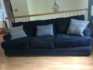 Dark Blue Couch/Loveseat for Sale in Burke, VA