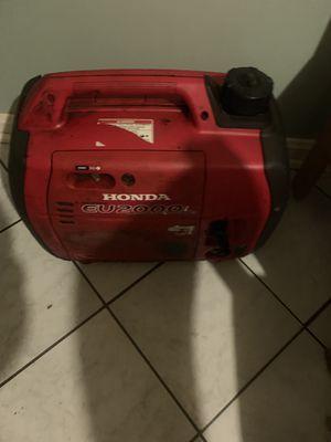 Honda EU2000i 2000 Watt Portable Generator for Sale in College Park, MD
