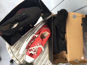 Converse and vans 25$ each for Sale in Elgin, SC