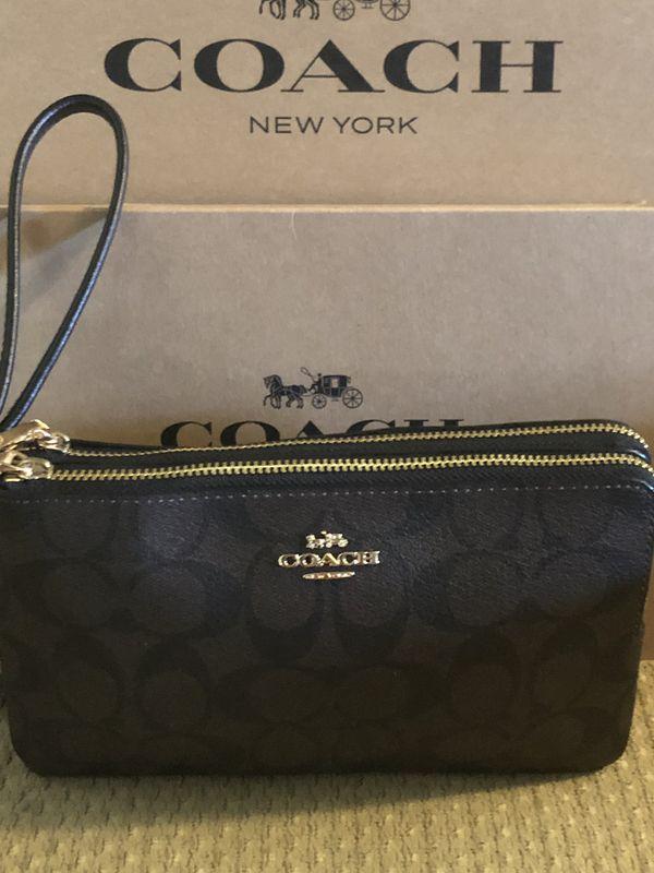 Brand New Original Coach bag with 2 zipper