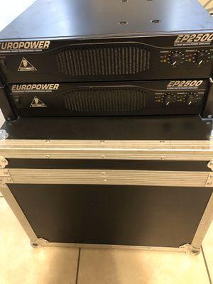 EP2500w power amplifiers $200each for Sale in Phoenix, AZ