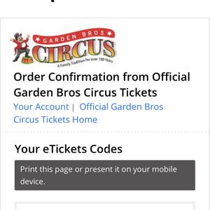 Circus Tickets for Sale in West Palm Beach, FL