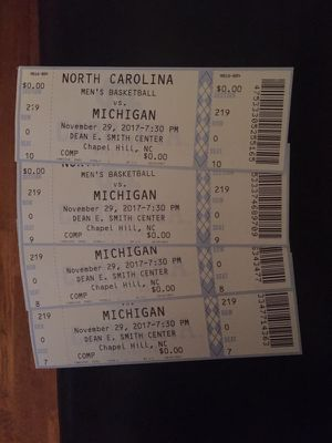 Tickets for Sale in Durham, NC