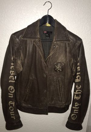 Diesel 100% Leather Jacket for Sale in Miami, FL