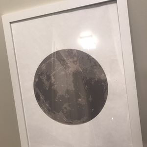 Moon Picture With Frame for Sale in Portland, OR