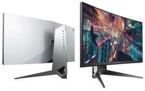 AW3418HW Alienware 34 curved 1900r gaming monitor for Sale in San Diego, CA