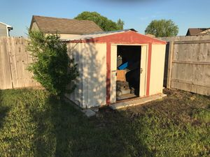 Shed 10x9x6 foots is in good condition $225 obo Goddard ks tell {contact info removed} call for Sale in Goddard, KS