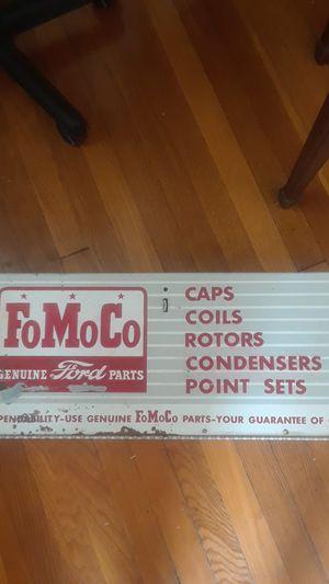 Original vintage Ford Motor Company cabinet metal for Sale in Henrico, VA