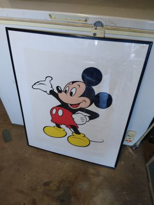 Disney Mickey Mouse Poster for Sale in Sun City, AZ