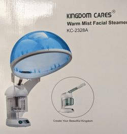 KINGDOMBEAUTY Large 2-in-1 Hair and Facial Steamer Face Steamer for Sale in Portland,  OR