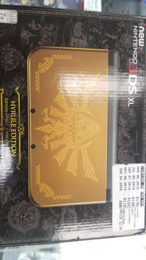 Nintendo 3ds xl Hyrule Edition for Sale in Tampa, FL