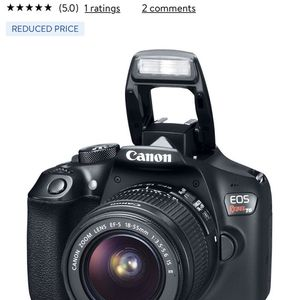 Canon EOS Rebel T6 for Sale in Columbia, MD