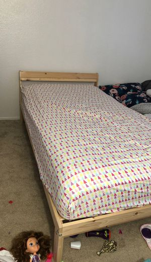 Twin bed and bed frame for Sale in Murrieta, CA