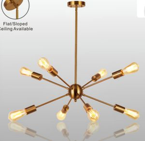 Ceiling lamp, chandelier,(not included bulb) for Sale in Ontario, CA
