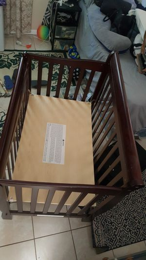 Baby crib with foam for Sale in Philadelphia, PA