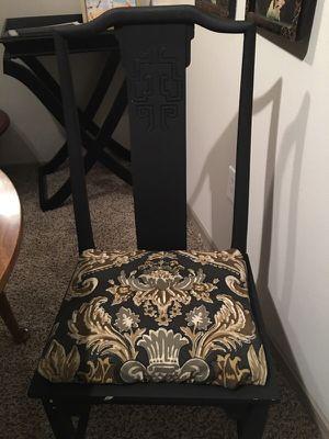 4 black chairs for Sale in Atlanta, GA