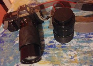 Canon T70 35 mm manual camera with 2 upgraded lenses for Sale in Las Vegas, NV