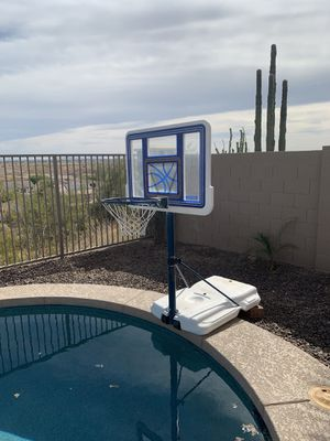 Swimming pool basketball hoop for Sale in Sun City West, AZ