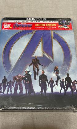 Avengers Endgame Steelbook for Sale in Reedley,  CA
