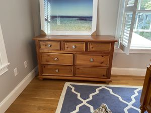 Free bureau - needs knobs and a track on one drawer for Sale in Concord, MA
