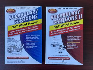 Vocabulary Cartoons 1 & 2 - NEW for Sale in San Diego, CA