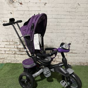 Evezo Maks 4-in-1 Stroller Tricycle with full canopy for Sale in Pittsburgh, PA
