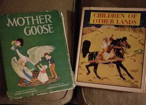 Vintage Books- Mother Goose&Children of Other Lands for Sale in Tacoma, WA