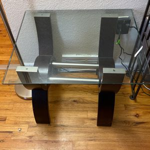 2 Glass End Table for Sale in Denver, CO