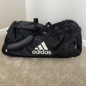 Adidas large duffle travel bag black for Sale in Las Vegas, NV