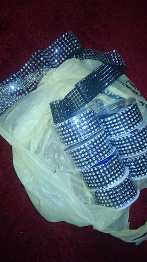 Rhinestones material trim for Sale in Hammonton, NJ
