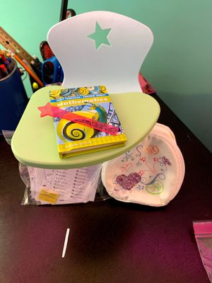 American girl doll school desk for Sale in Abbottstown, PA