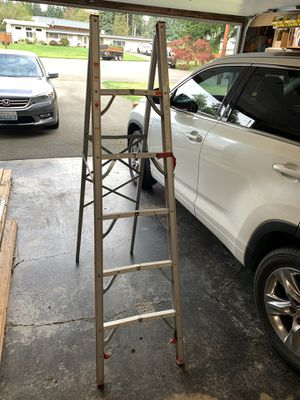 Z-Tech 6' Folding Aluminum RV camper Ladder for Sale in Bothell, WA