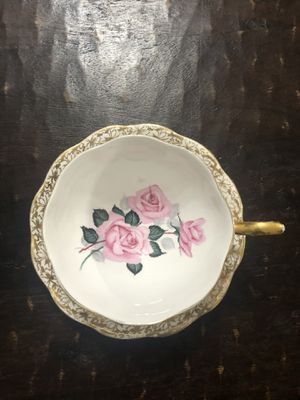 Antique Teacup and Saucer Bone China & gold for Sale in Waco, TX