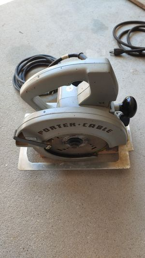 Porter Cable 315-1 Type 2 Circular Saw for Sale in Princeton, NJ